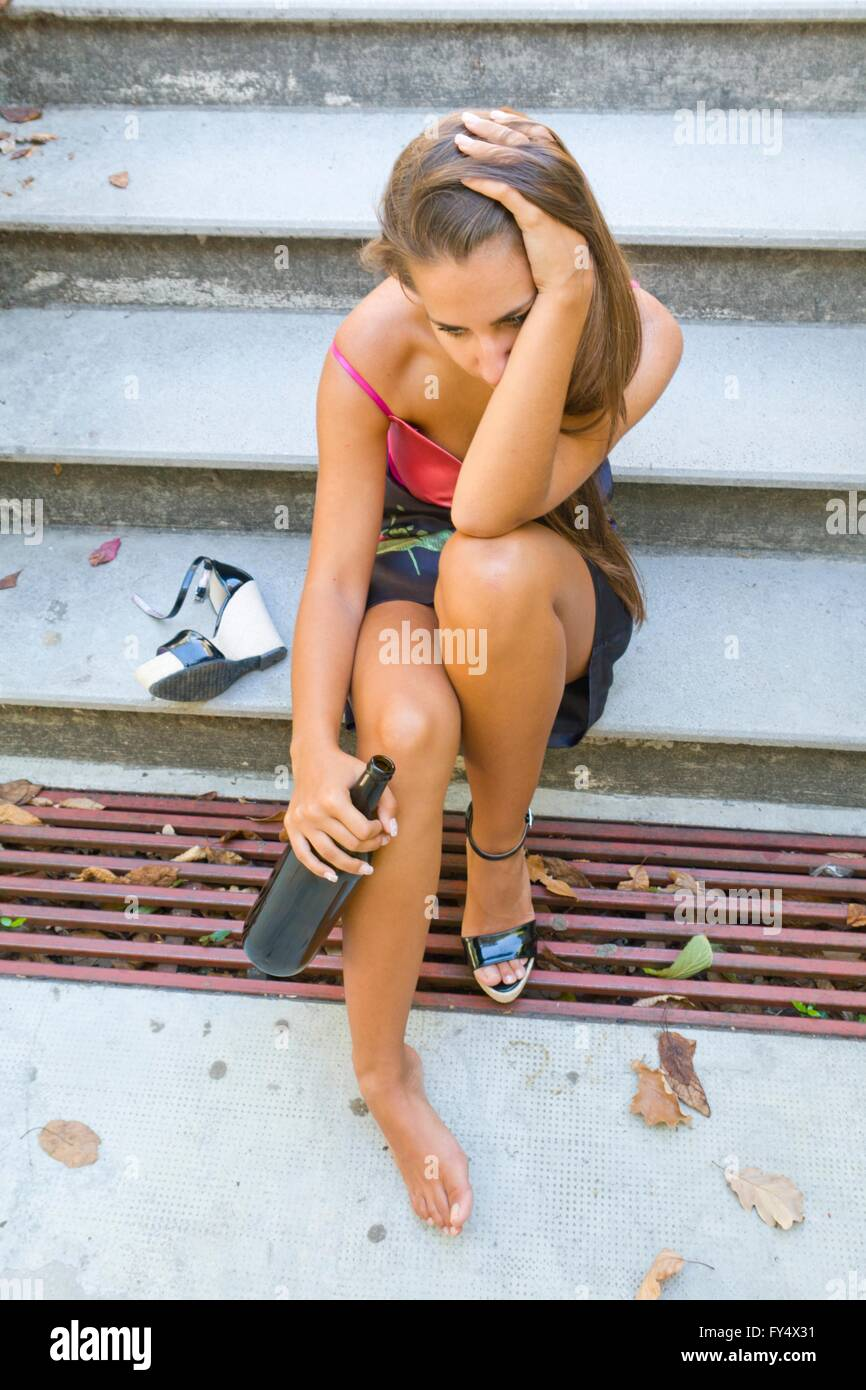 Adolescent teen Stock Photo