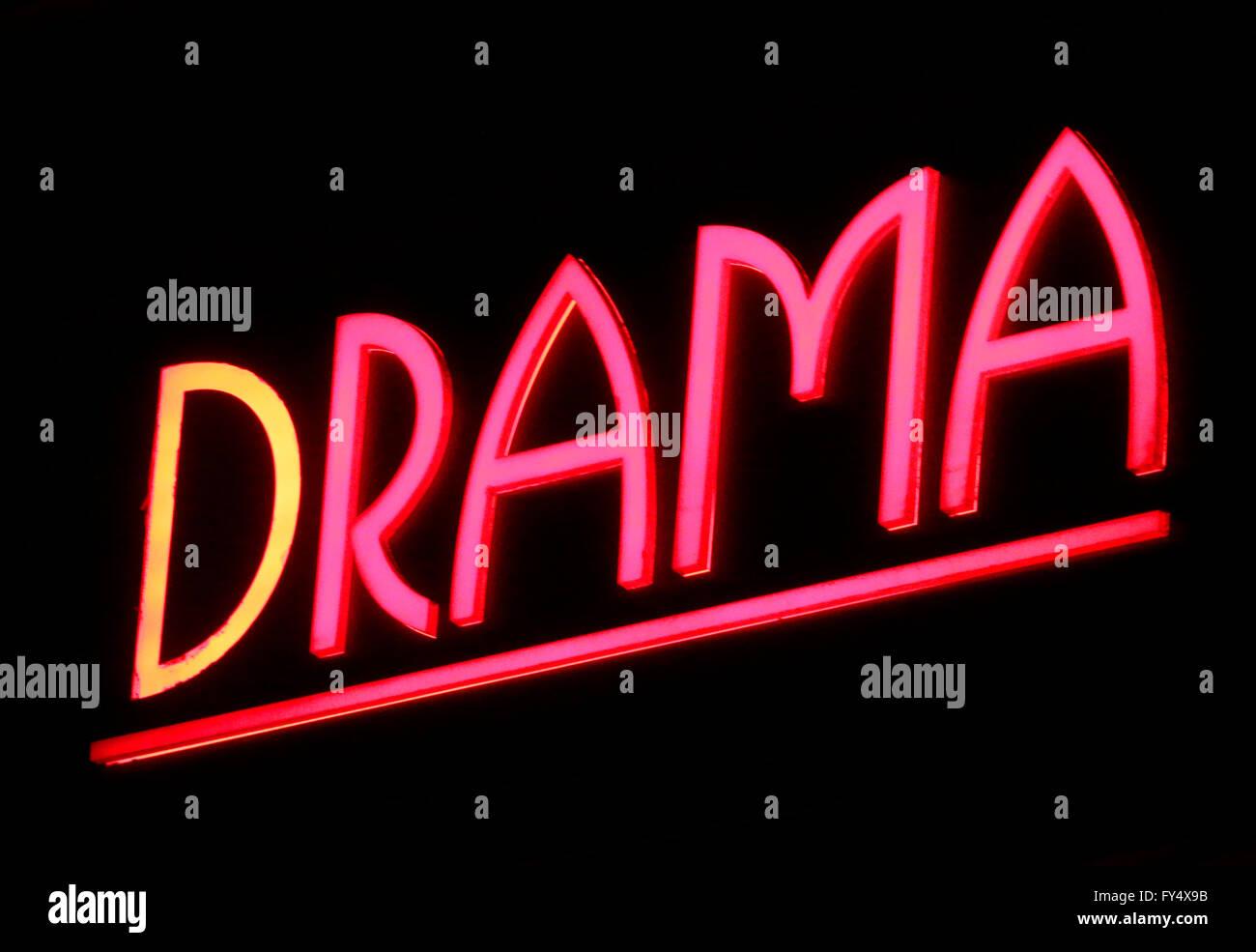 Markennamen: 'Drama', Berlin. - Stock Image