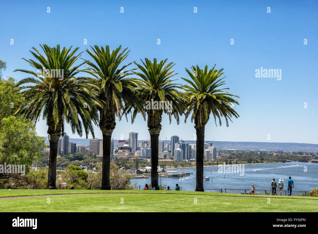 Kings Park in Perth - Stock Image