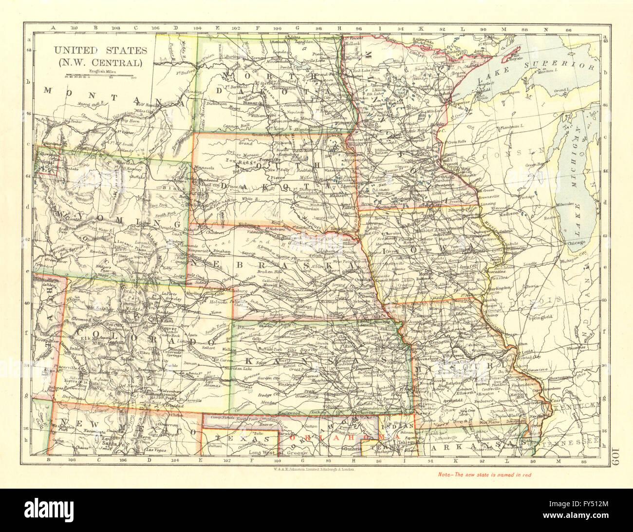 USA PLAINS STATES. Iowa Minnesota Kansas NE ND SD Colorado. JOHNSTON ...