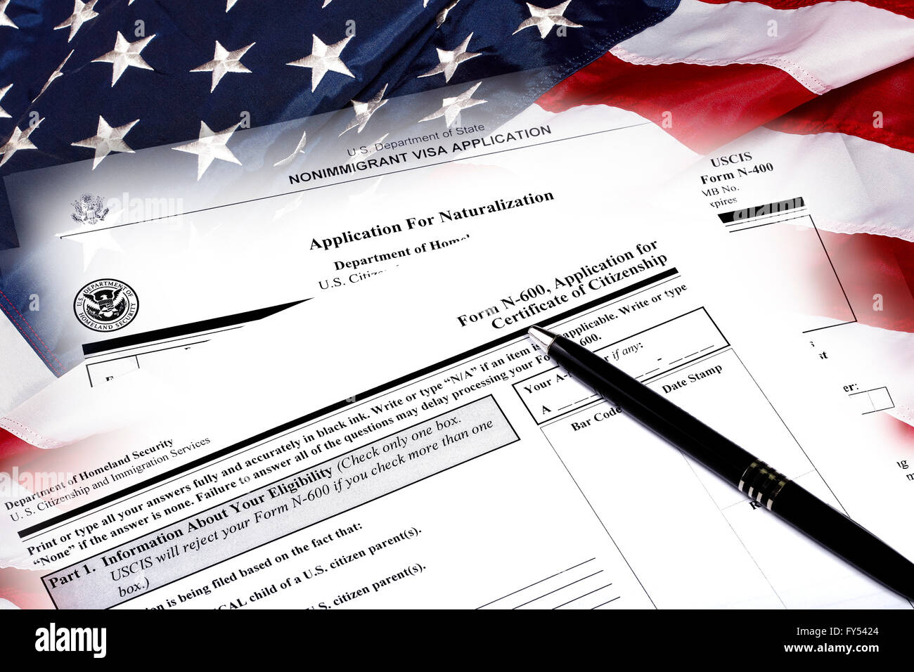 Immigration And Naturalization Stock Photos & Immigration And ...