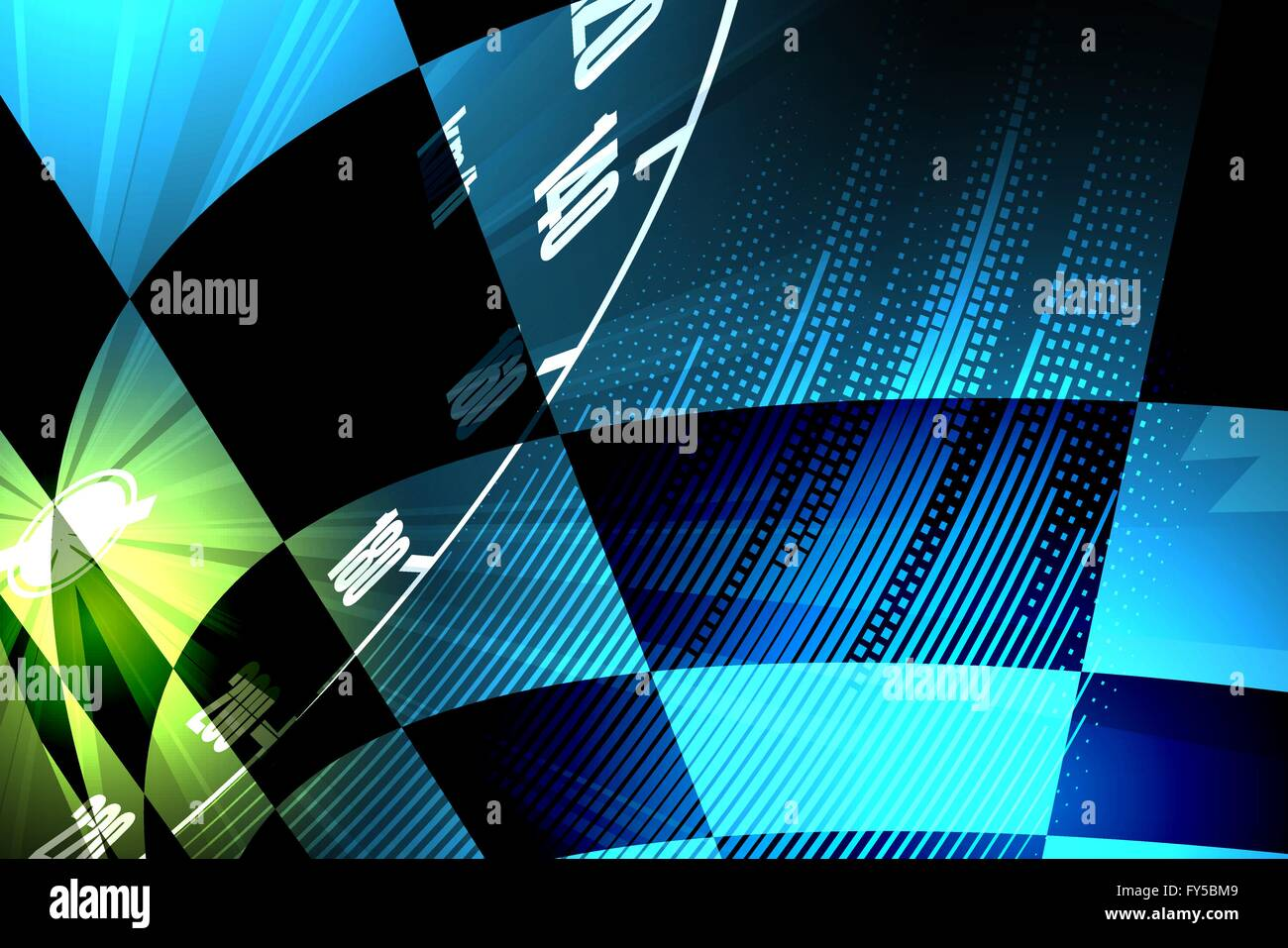 Racing Square Background Vector Abstraction In Racing Car