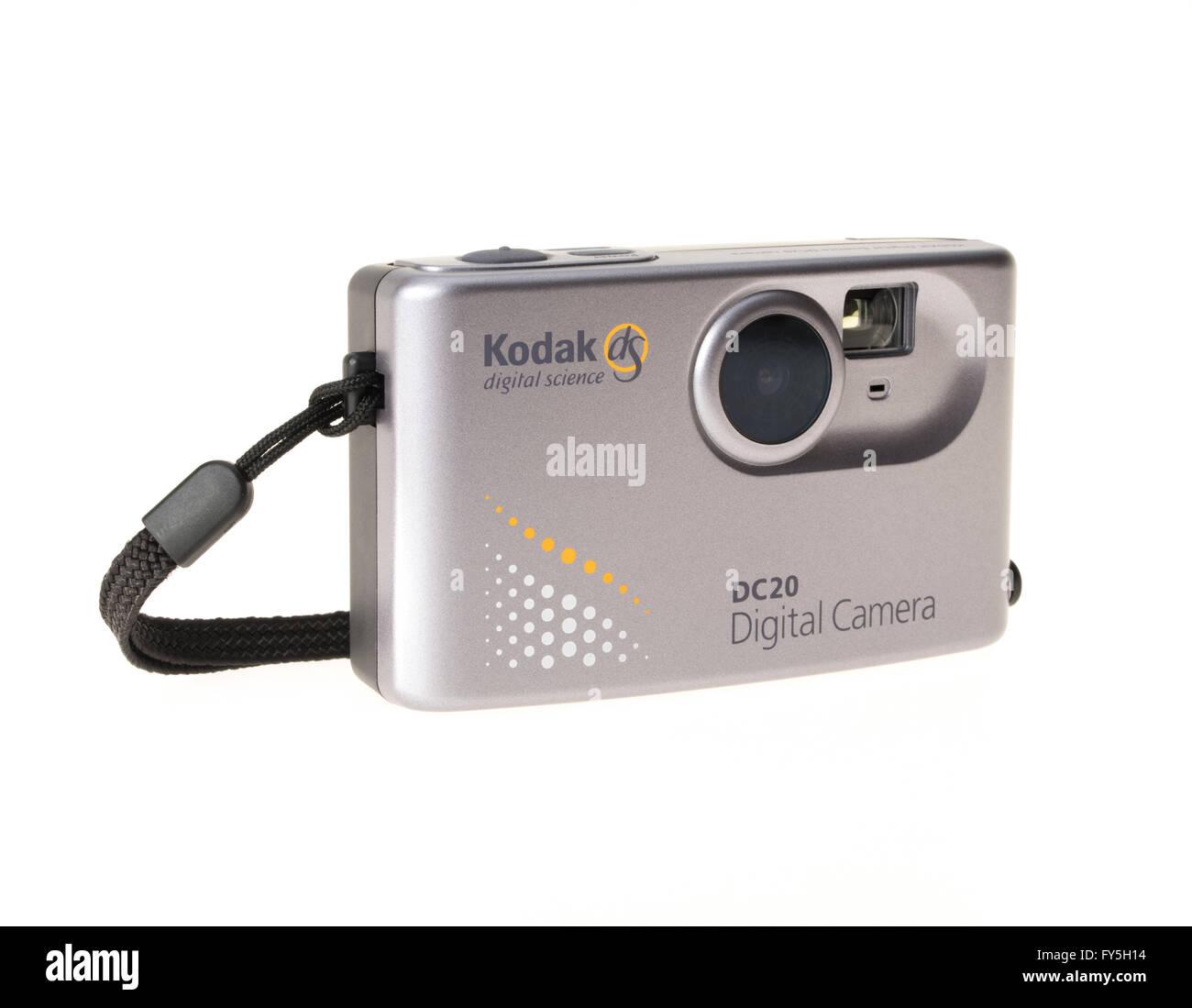 Kodak dS digital science DC20 digital camera released by