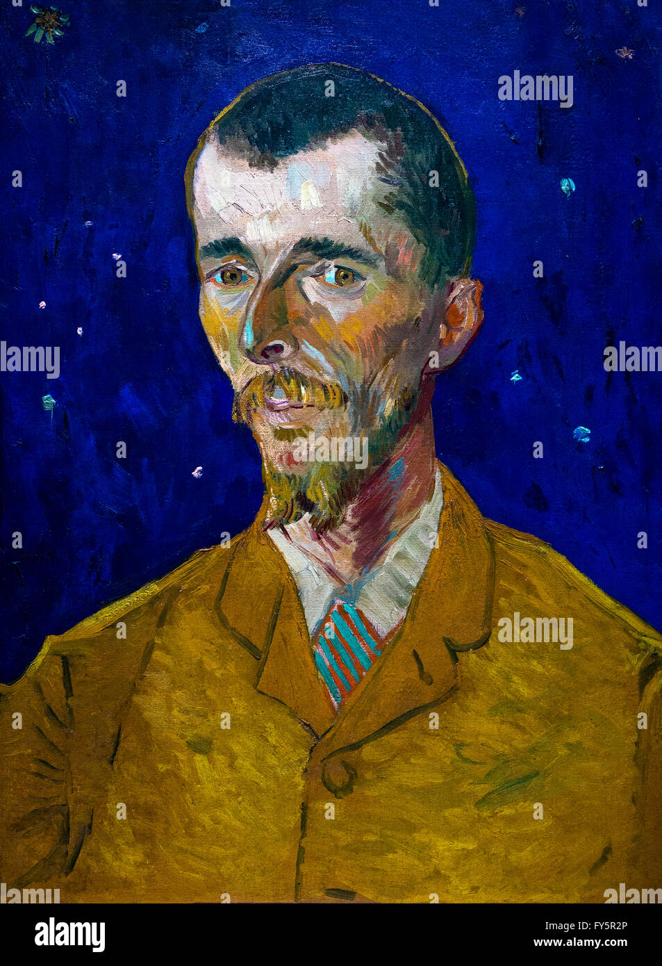 Eugene Boch by Vincent van Gogh, 1888, Musee D'Orsay, Paris, France, Europe - Stock Image