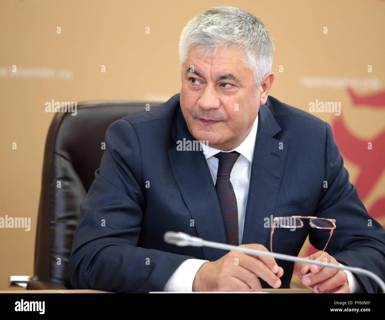 Vladimir Kolokoltsev today 8