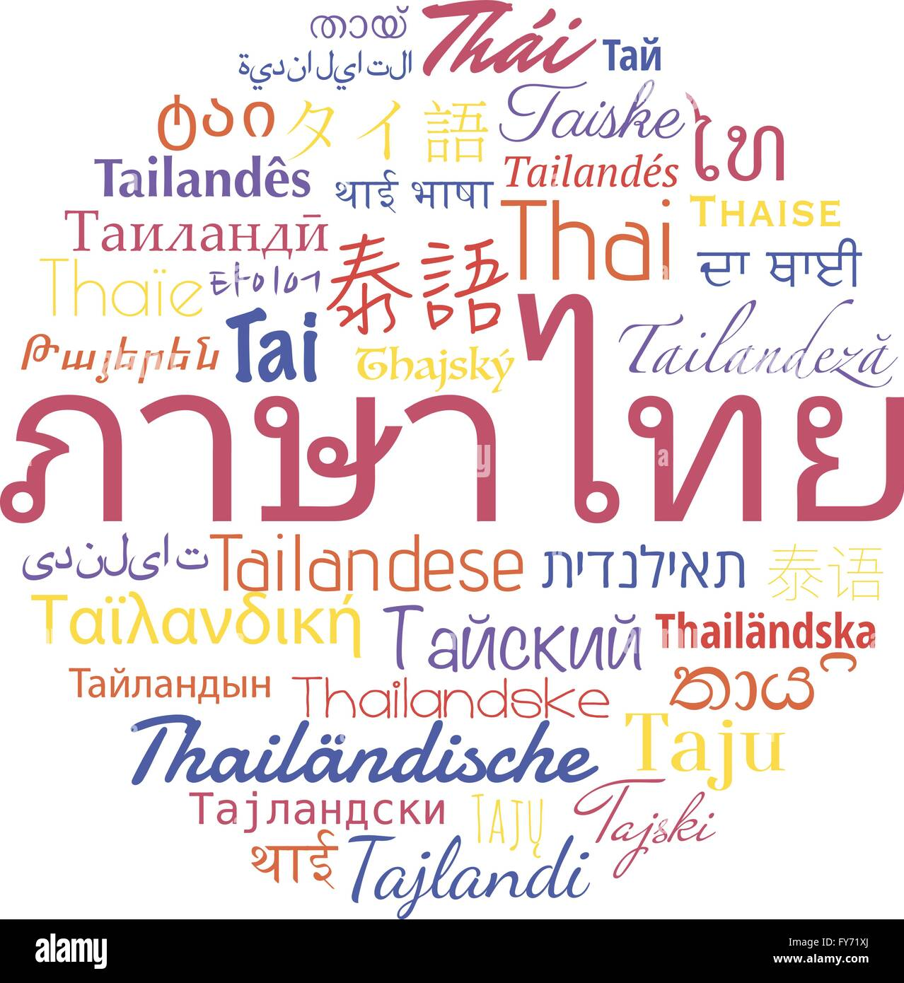 Foreign Language Concept Word Cloud Stock Photos Foreign Language