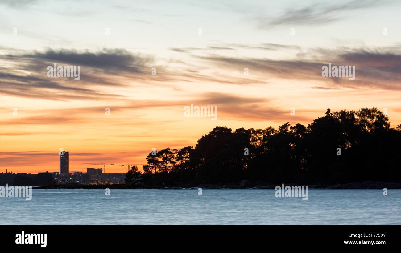 34f962c4a86 Sunset at Hattusaari island