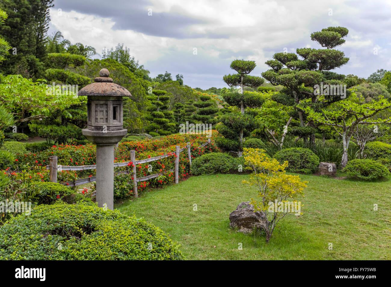 Japanese Garden At The Jardin Botanico National Dr. Rafael María Moscoso,  National Botanical Garden, Santo Domingo