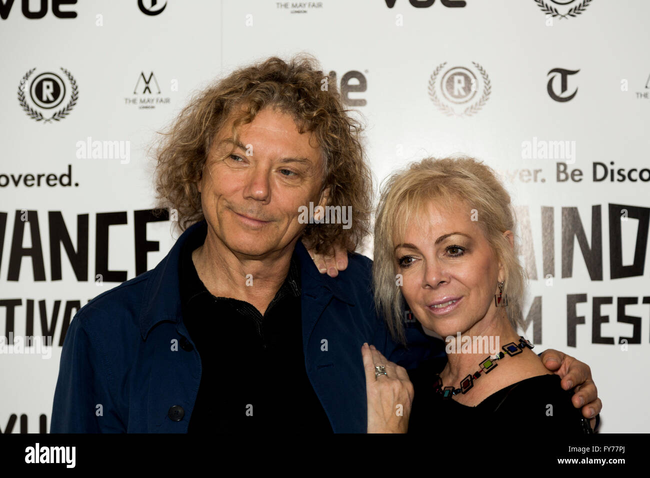 UK Premiere of Take Me To The River at the 22nd annual Raindance Film Festival in Vue Piccadilly, London. - Stock Image