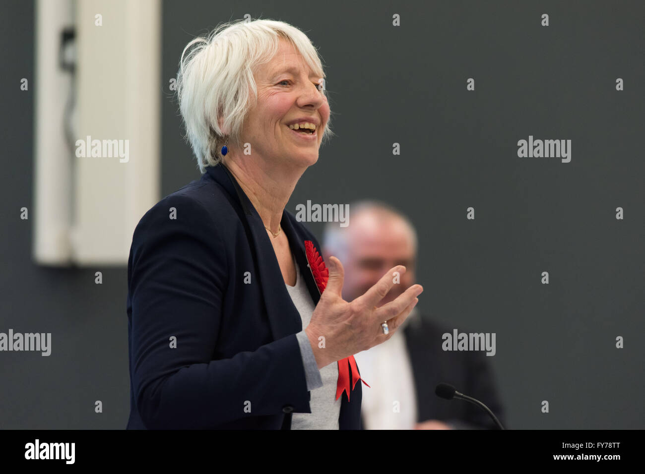 Jenny Rathbone Labour AM for Cardiff Central at the National assembly for Wales. - Stock Image