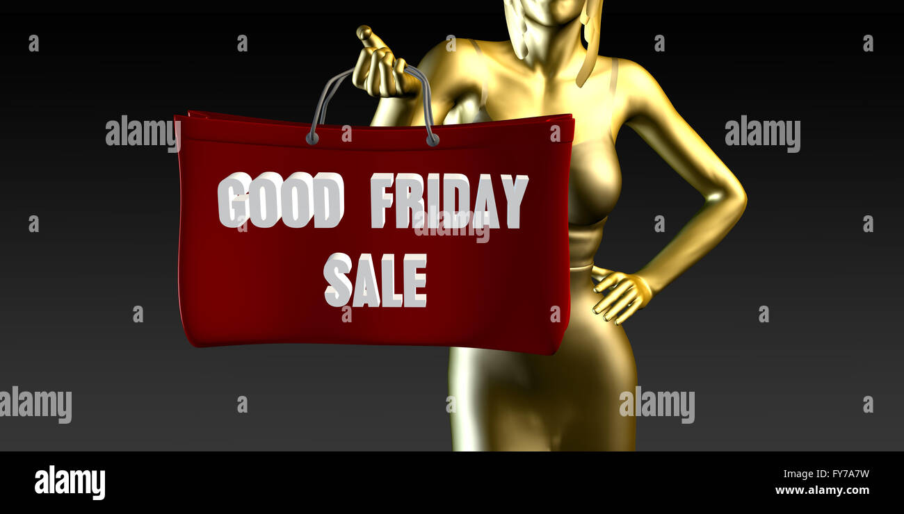 Good Friday Sale Or Sales As A Special Event Stock Photo Alamy