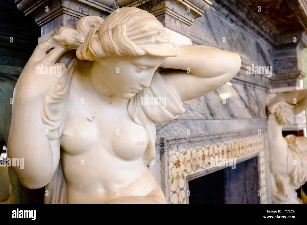 Caryatid - Stock Image