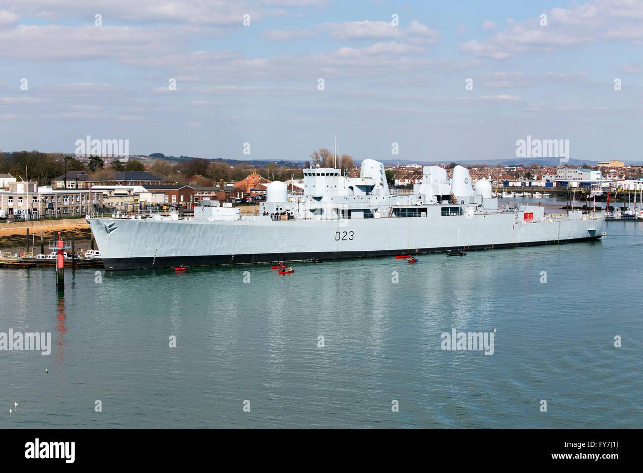 Navy ship - Stock Image