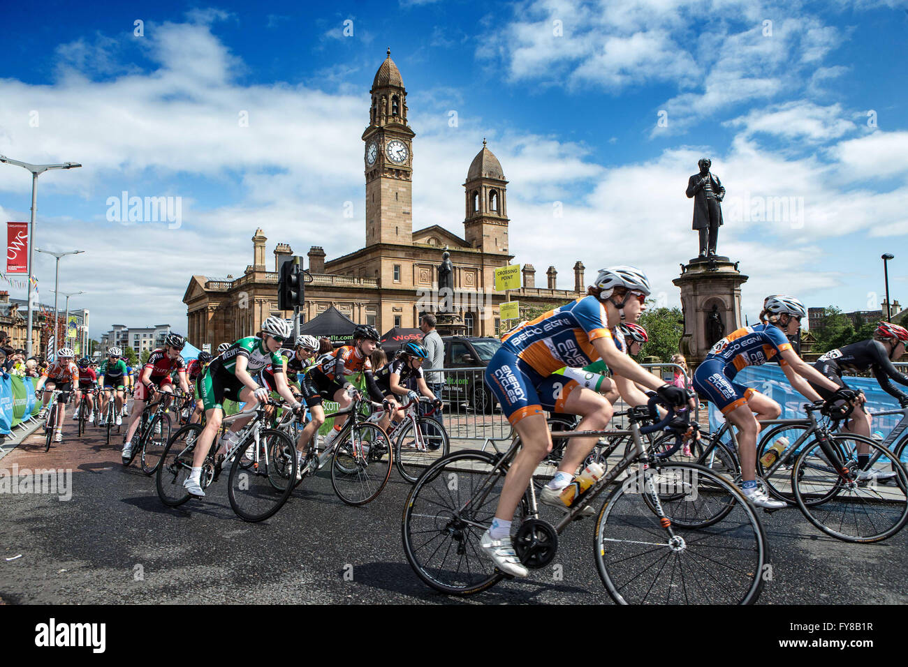 British National Youth Circuit Championships Paisley - Stock Image