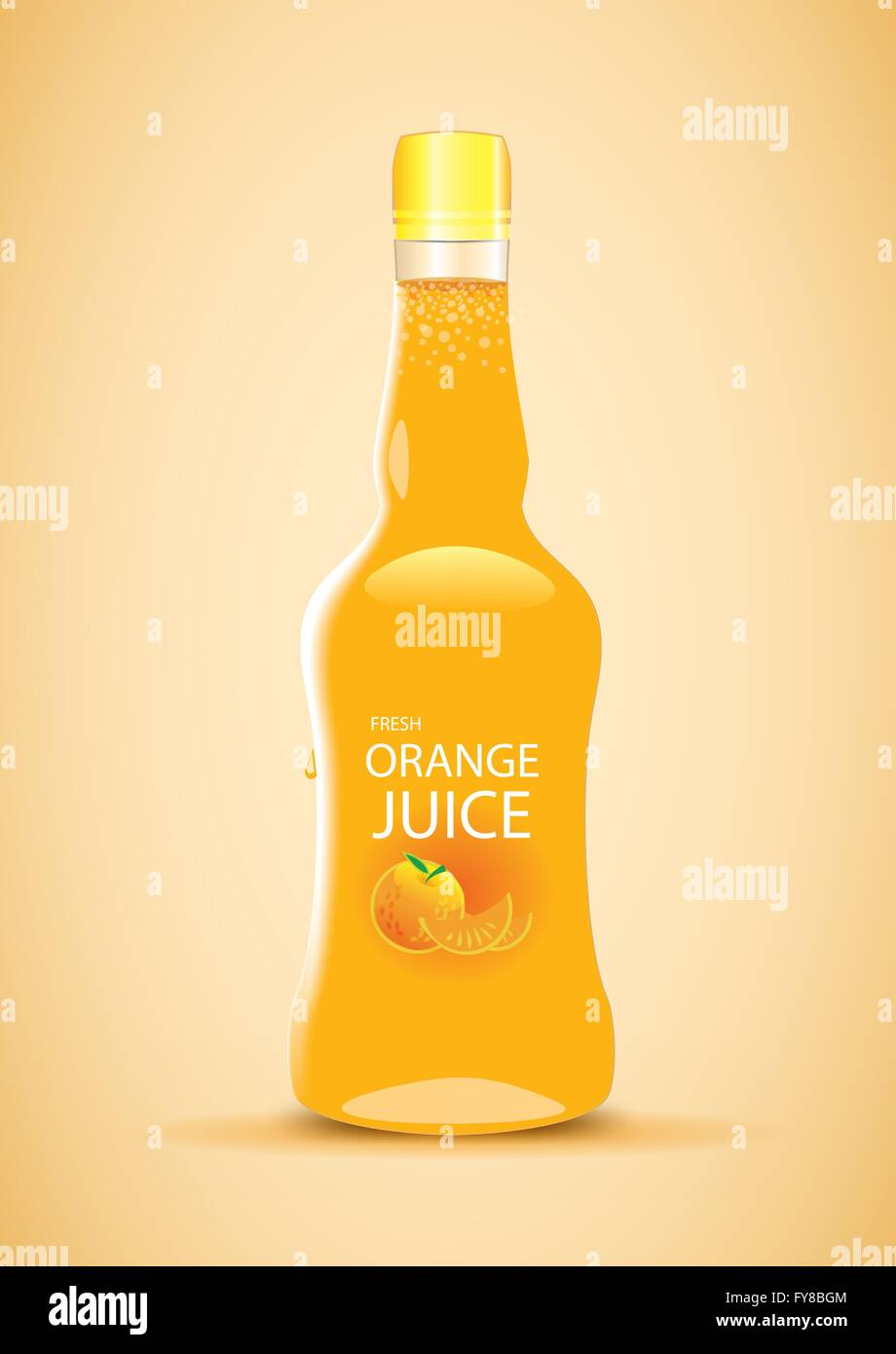 Summer Juice Drink - Stock Image