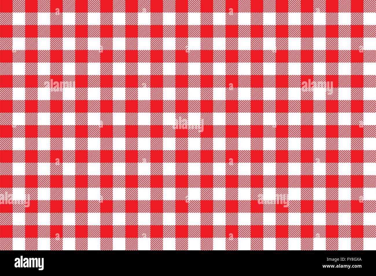 Tablecloth Background Red Seamless Pattern Vector