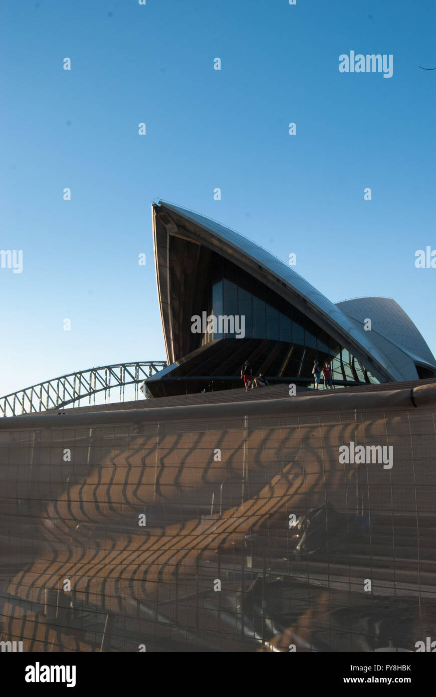 Australian World Heritage Listed Building - Stock Image