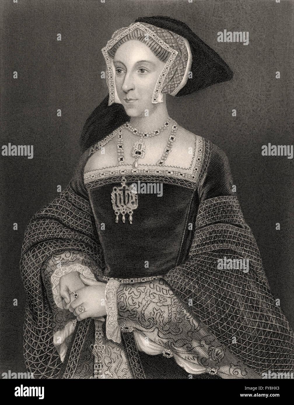 jane seymore ruler regarding england