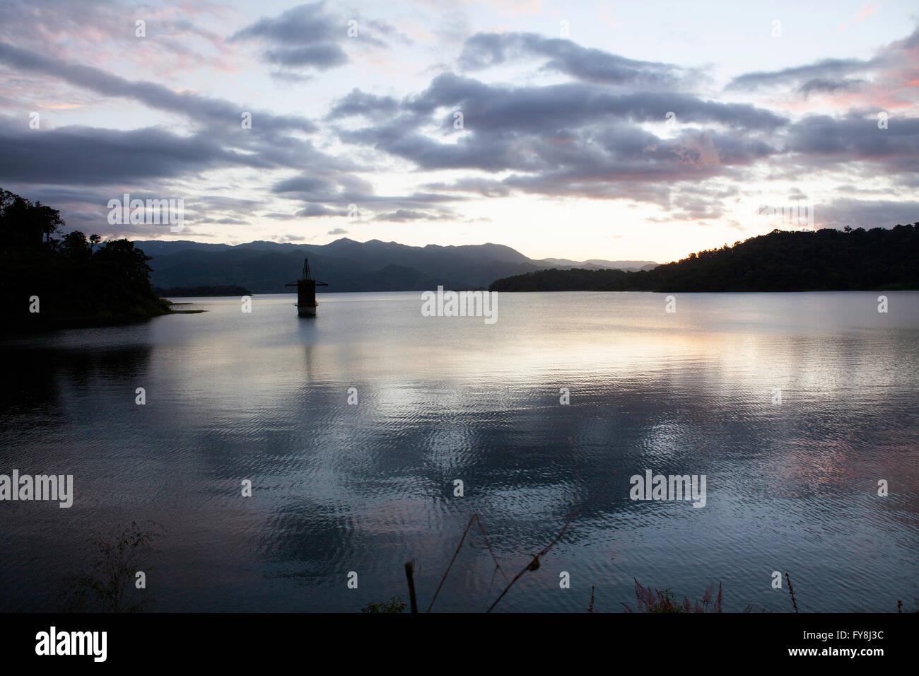 Lake Arenal in La Fortuna, Costa Rica - Stock Image