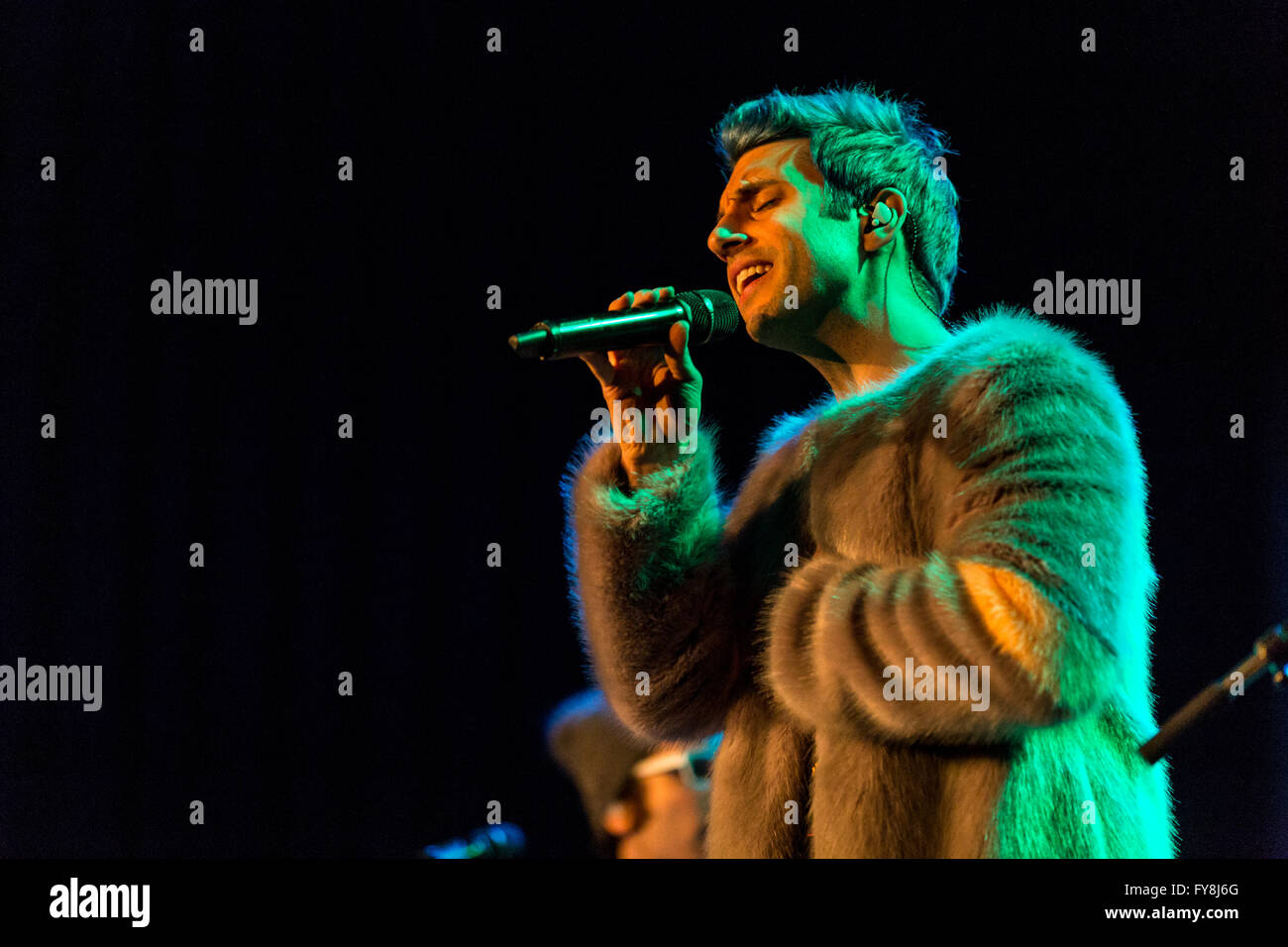 Chad King of A Great Big World @ The Rio Theatre - March 24th 2016 Stock Photo