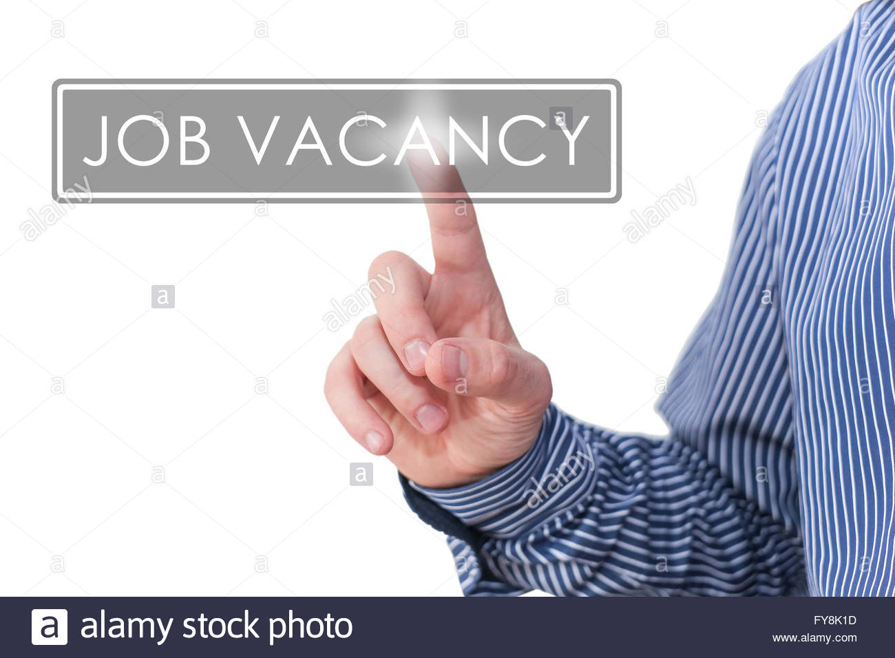 job vacancy - Stock Image