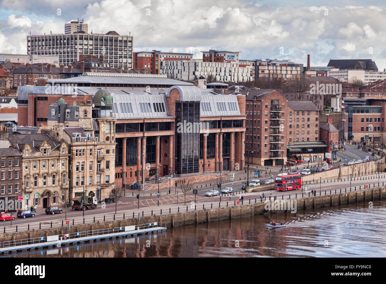 Newcastle-upon-Tyne Crown Court, Newcastle Quays, Tyne and Wear, England, UK Stock Photo