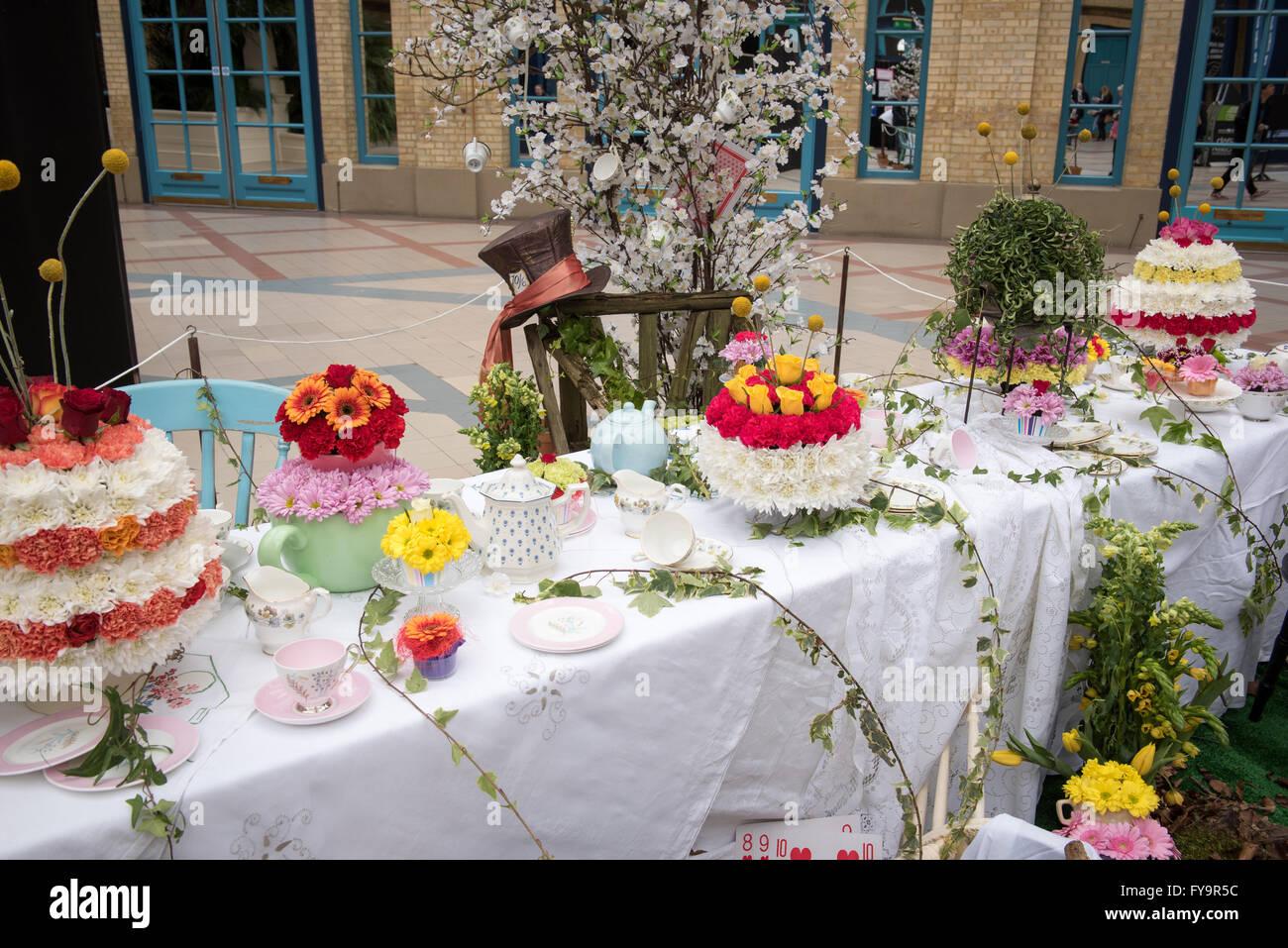 Cake International – The Sugarcraft, Cake Decorating and Baking Show in London - Stock Image