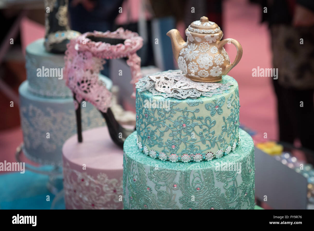 Sensational Teapot Birthday Cake Decoration At Cake International The Stock Personalised Birthday Cards Cominlily Jamesorg