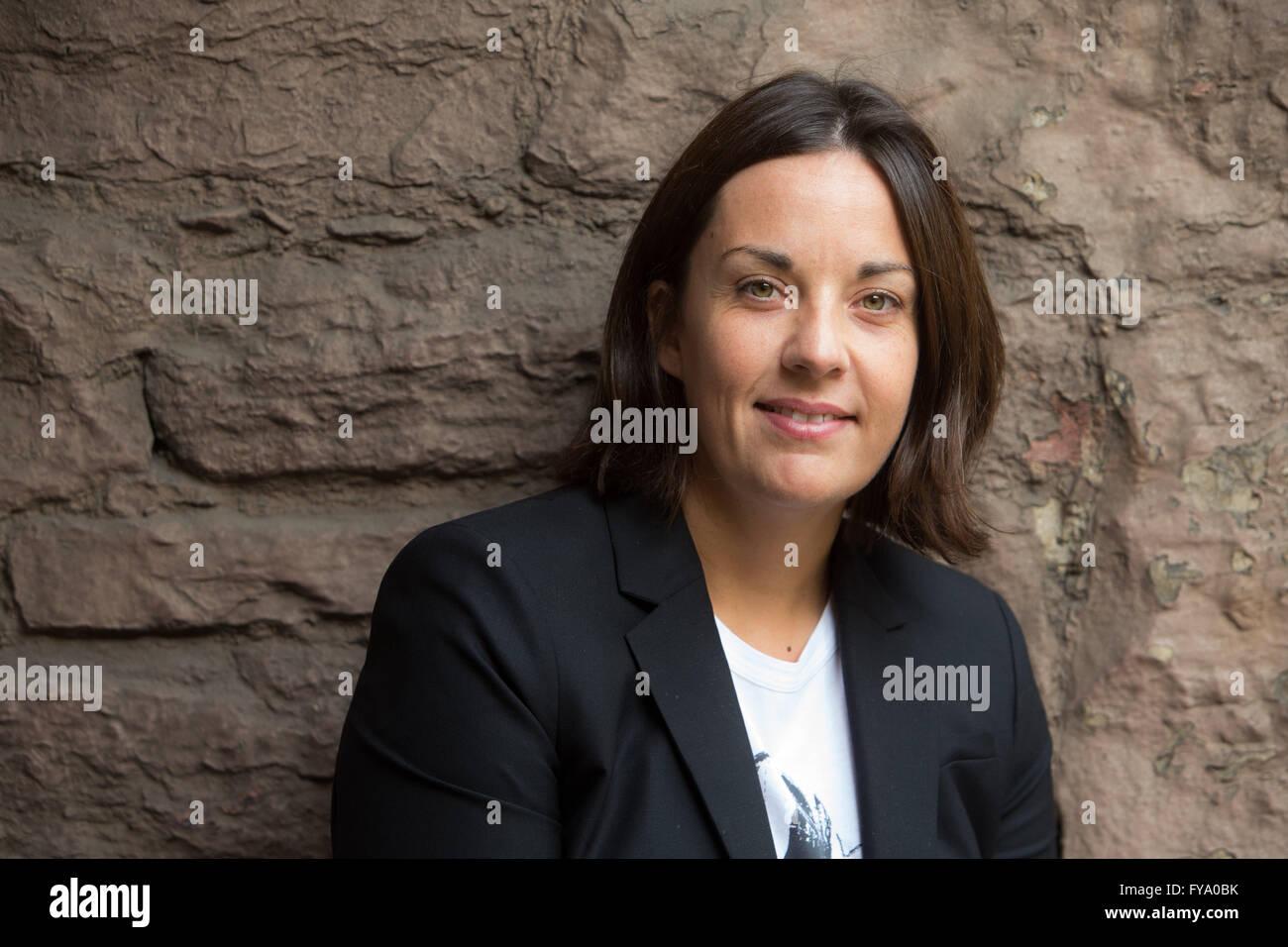 Scottish Labour Leader Kezia Dugdale at Edinburgh Festival - Stock Image