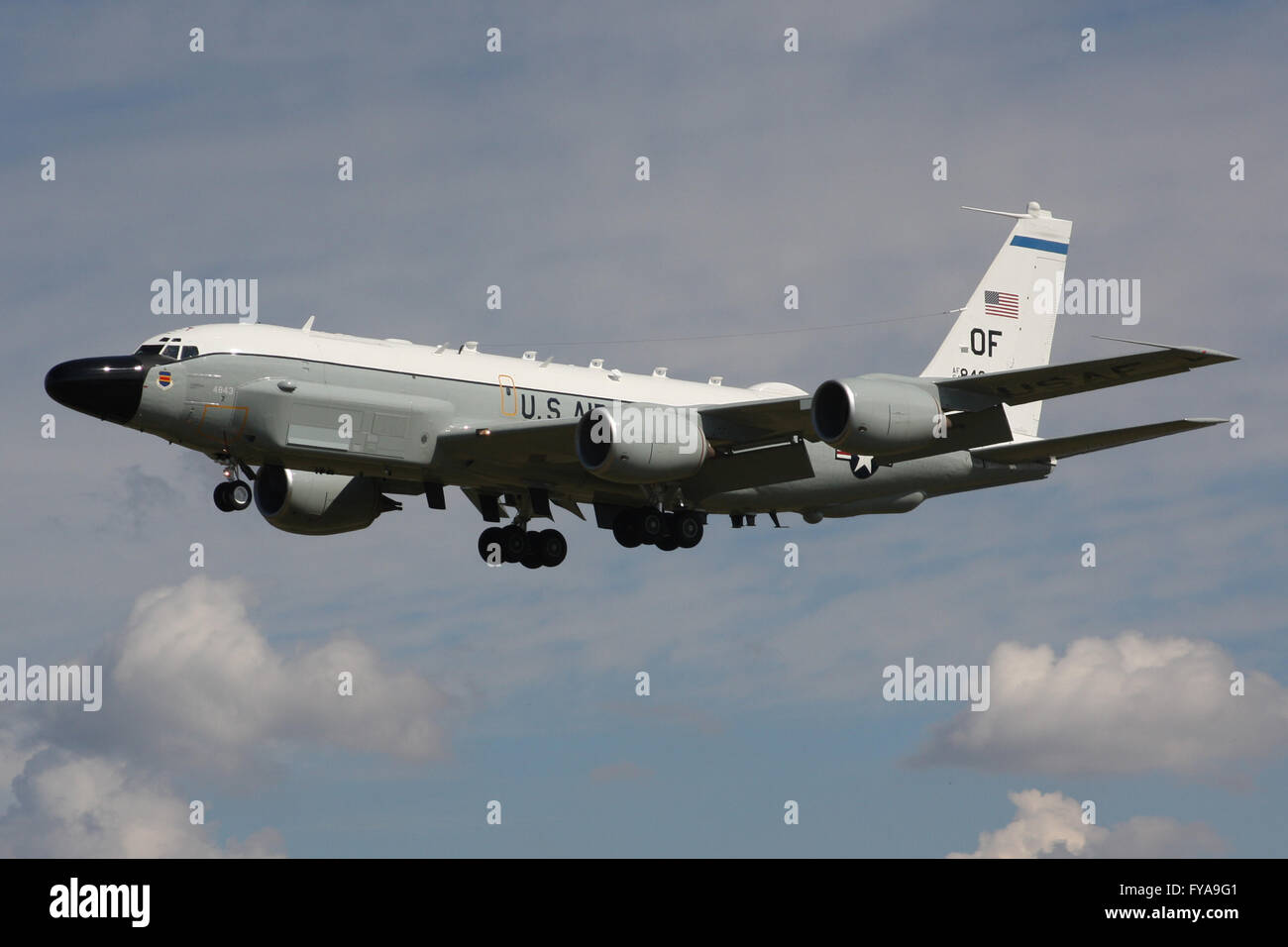 BOEING RC135 RIVET JOINT - Stock Image