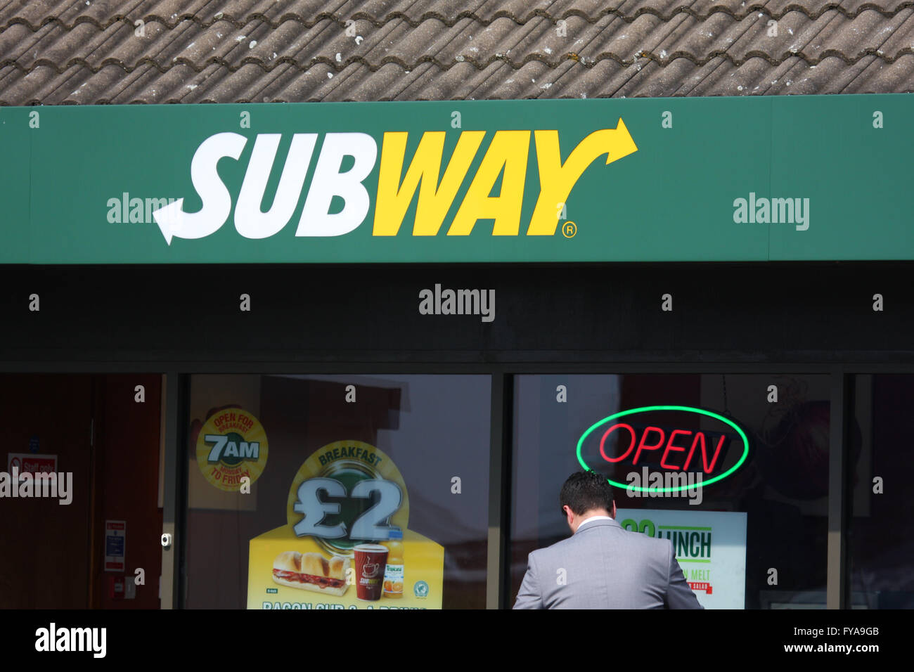SUBWAY - Stock Image