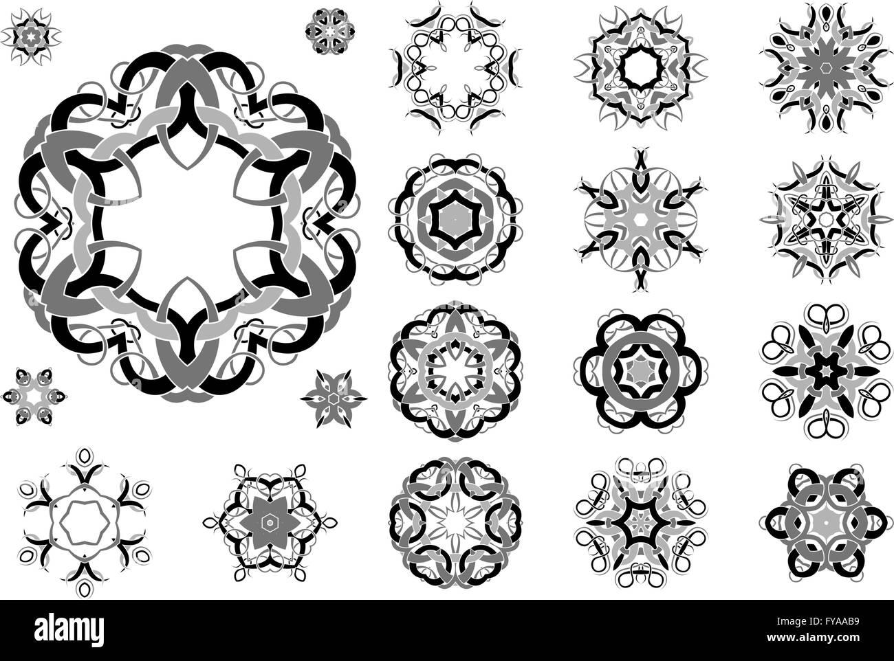 Celtic Floral Tattoo Designs