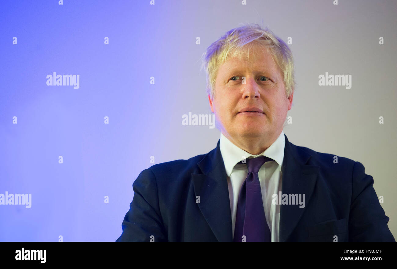 Boris Johnson former Mayor of London and Conservative MP. - Stock Image