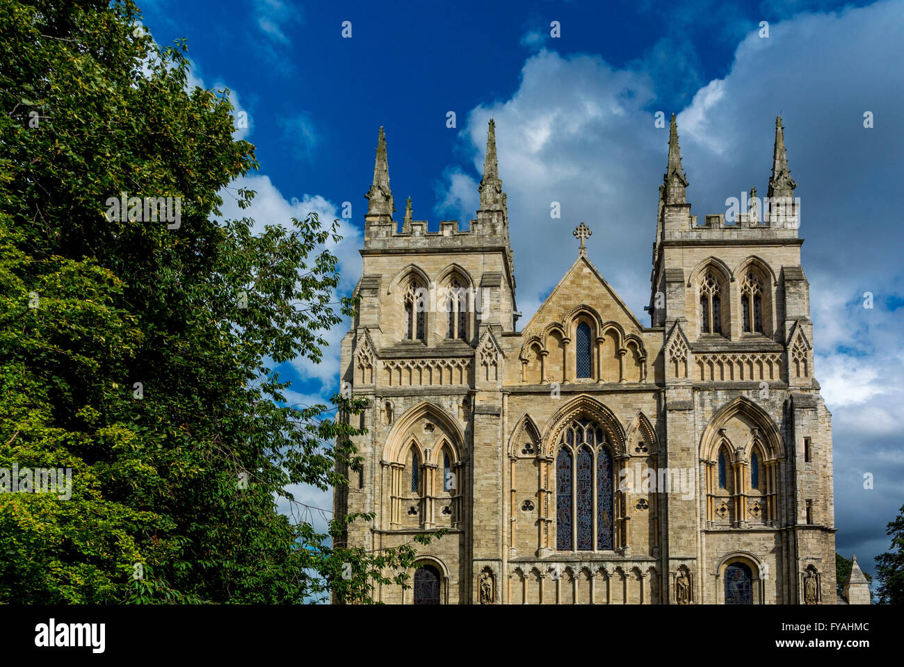 Selby Abbey, North Yorkshire, UK - Stock Image