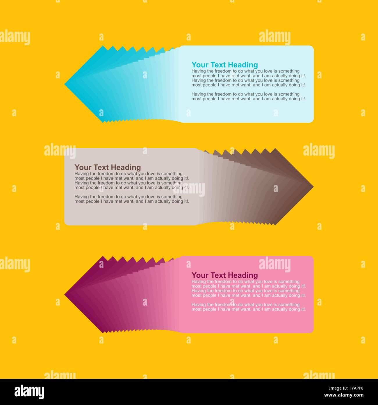 Infographics Design Template - Stock Image