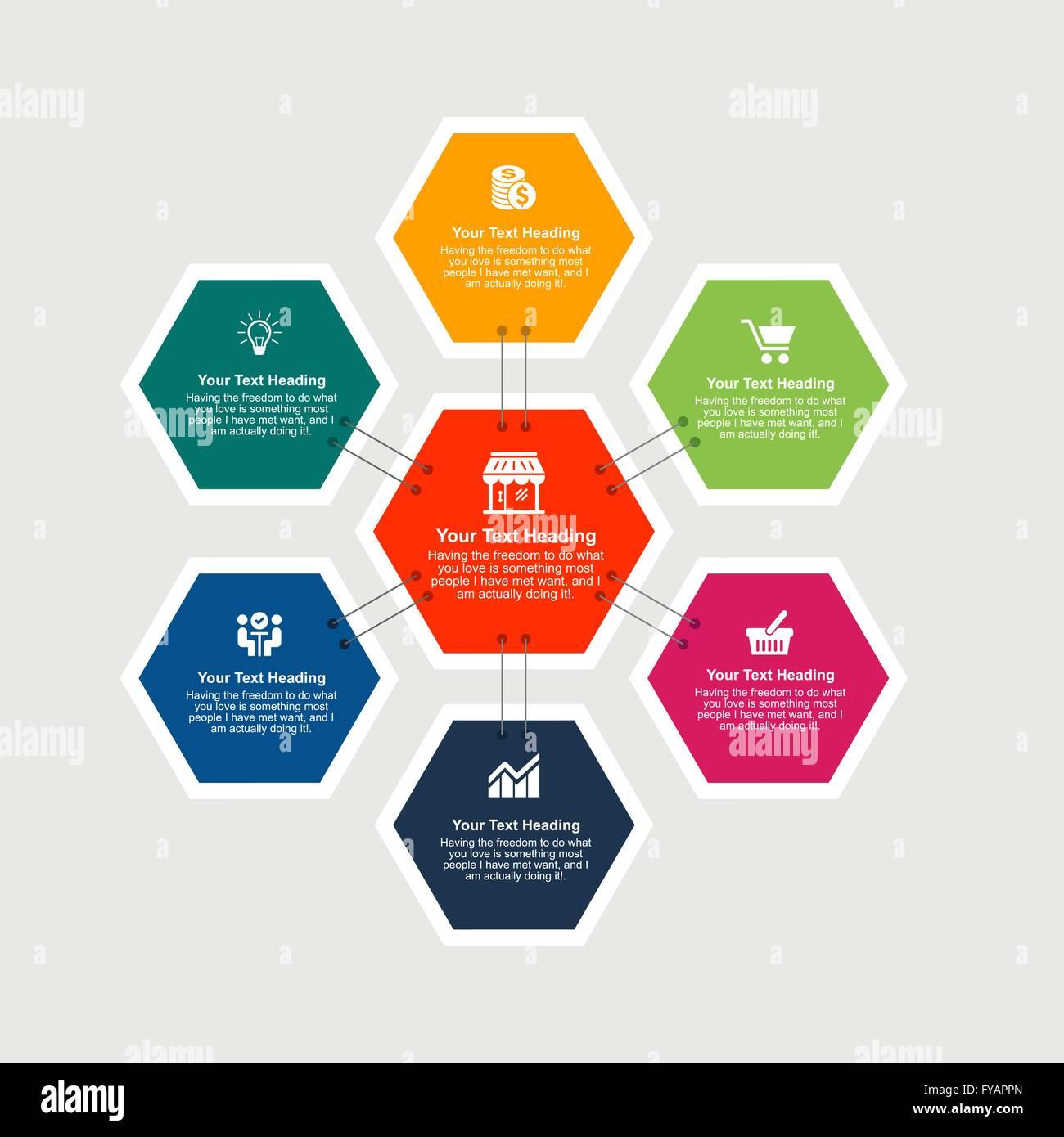 Infographics Design Template Stock Vector