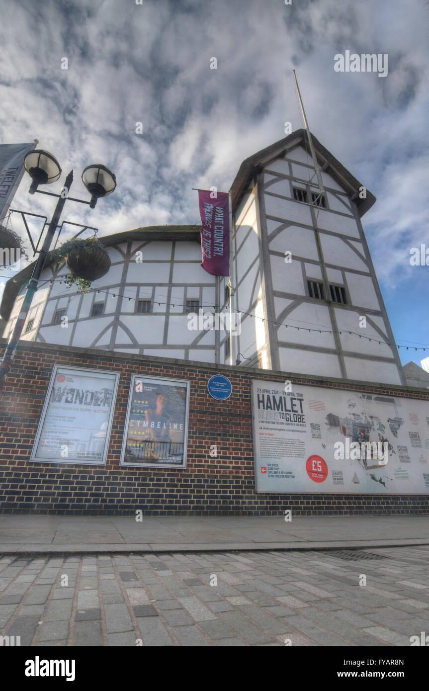 Globe Theatre,  London - Stock Image