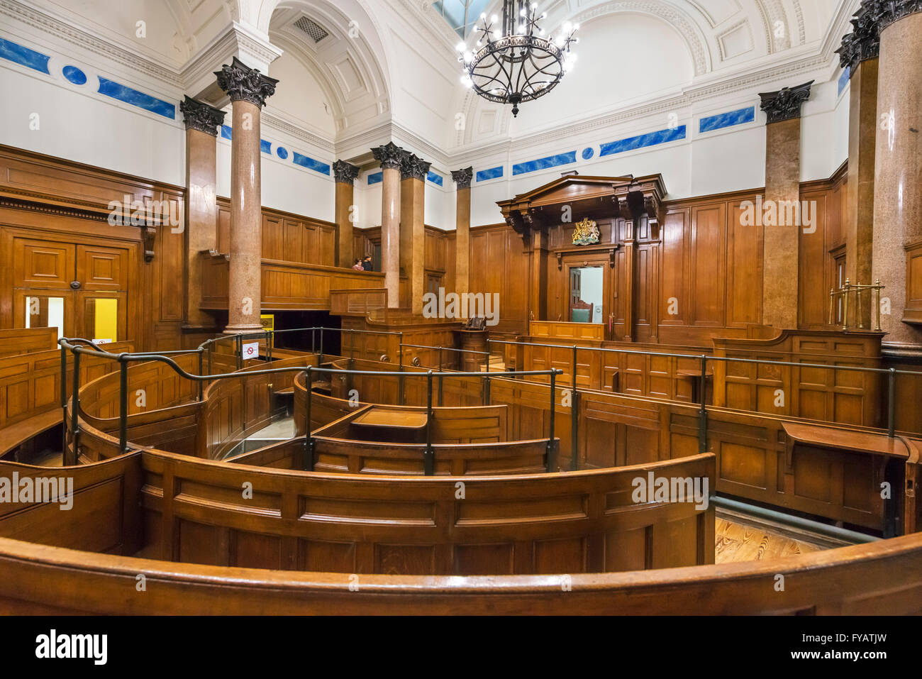 The old crown court in st george 39 s hall sometimes used as for The bailey