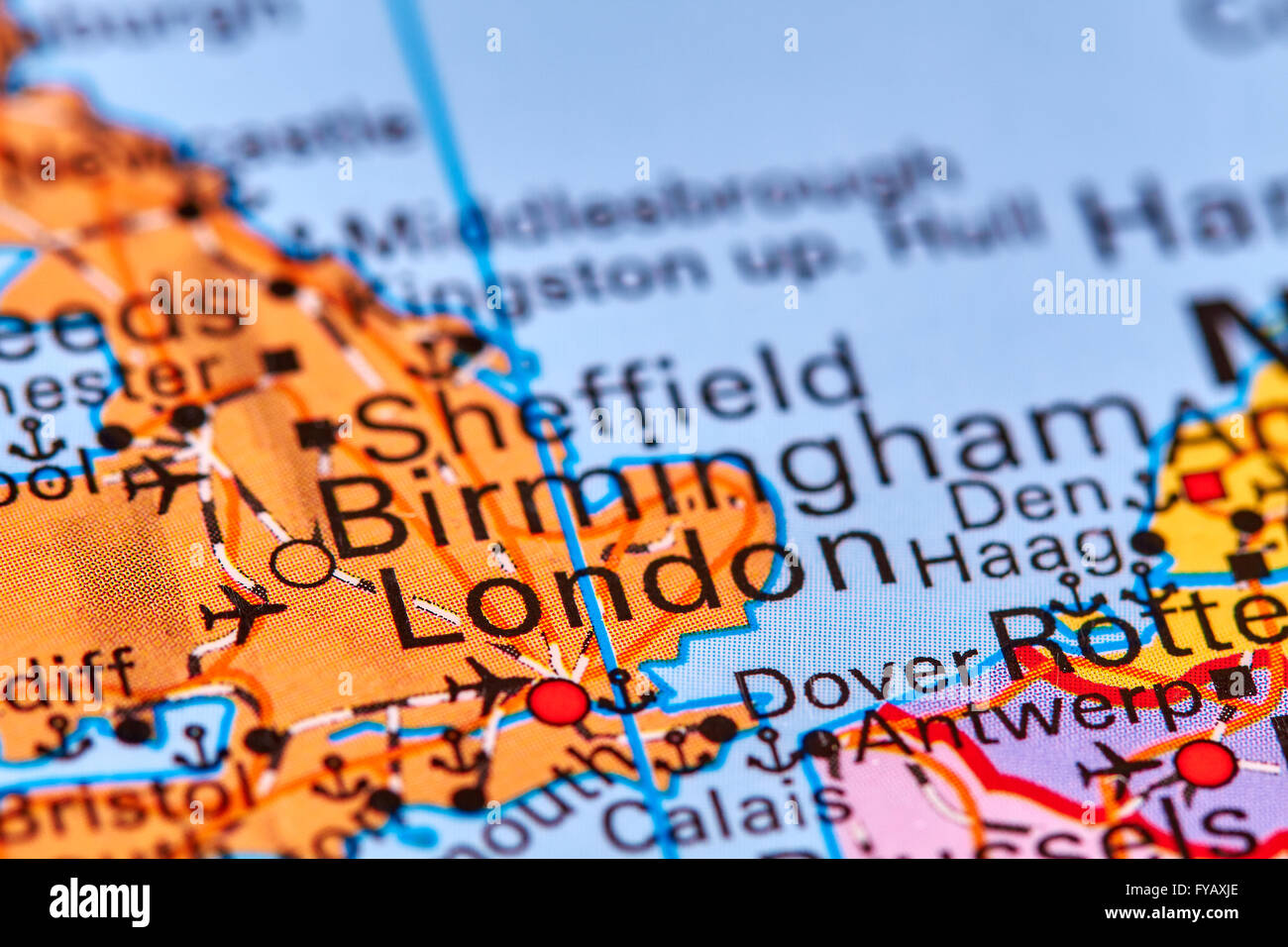 London capital city of england on the world map stock photo london capital city of england on the world map gumiabroncs Gallery
