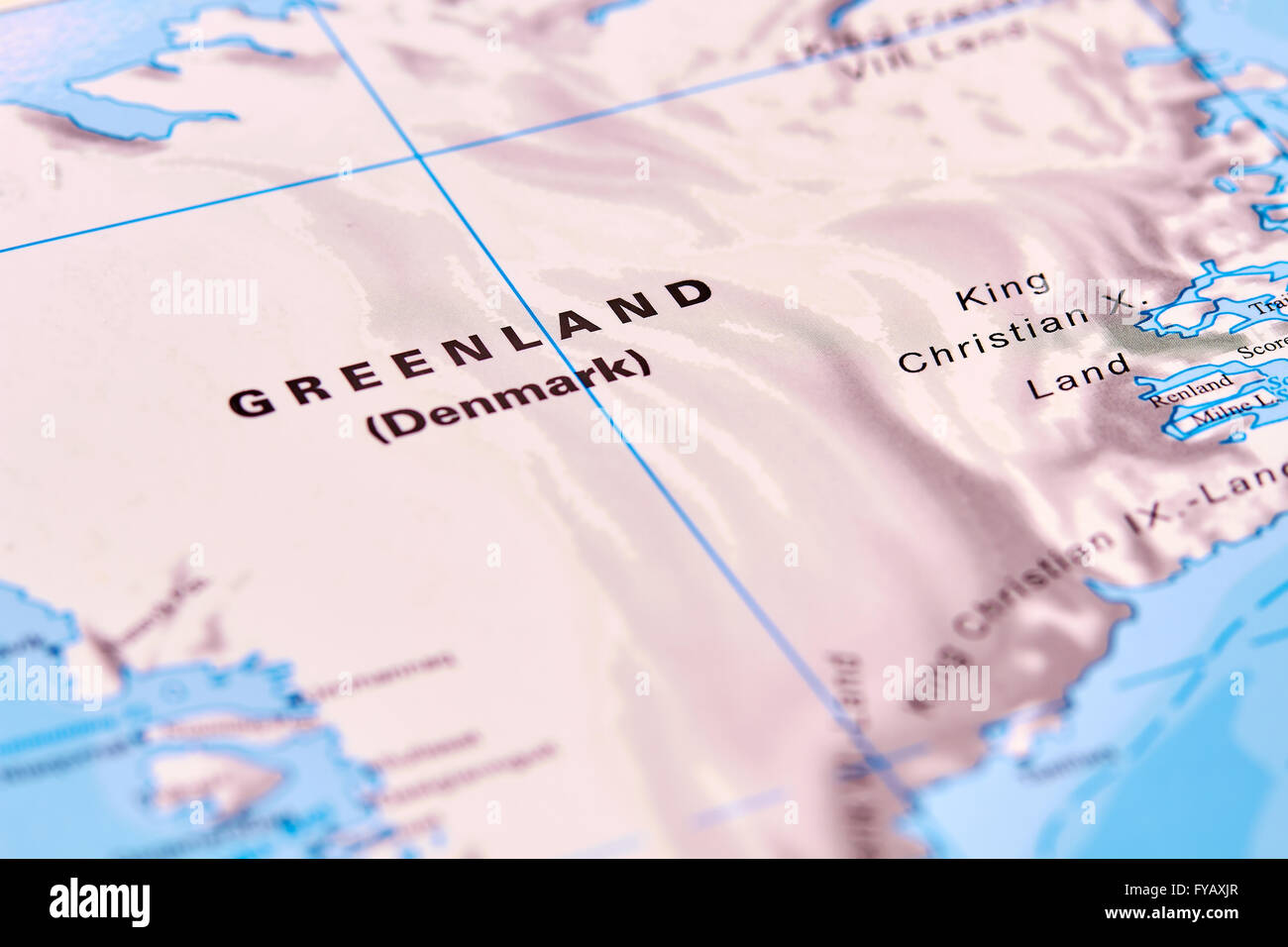 Greenland map stock photos greenland map stock images alamy greenland country in north america on the world map stock image gumiabroncs Image collections