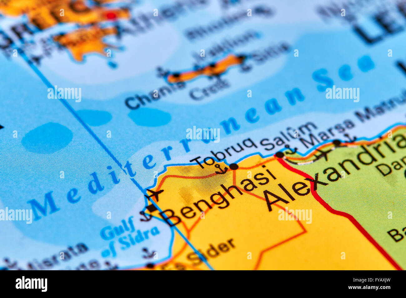 Map of mediterranean sea stock photos map of mediterranean sea the mediterranean sea europe on the world map stock image gumiabroncs