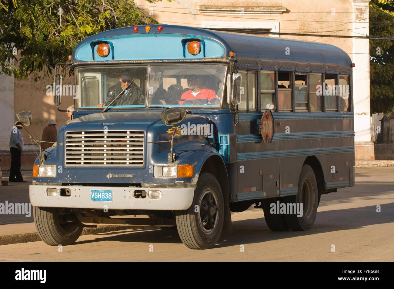 Caribbean Tours Bus Santiago