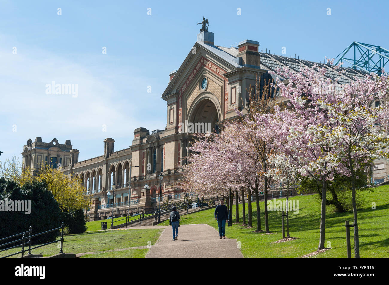 Alexandra Palace, Alexandra Park, London Borough of Haringey, Greater London, England, United Kingdom - Stock Image