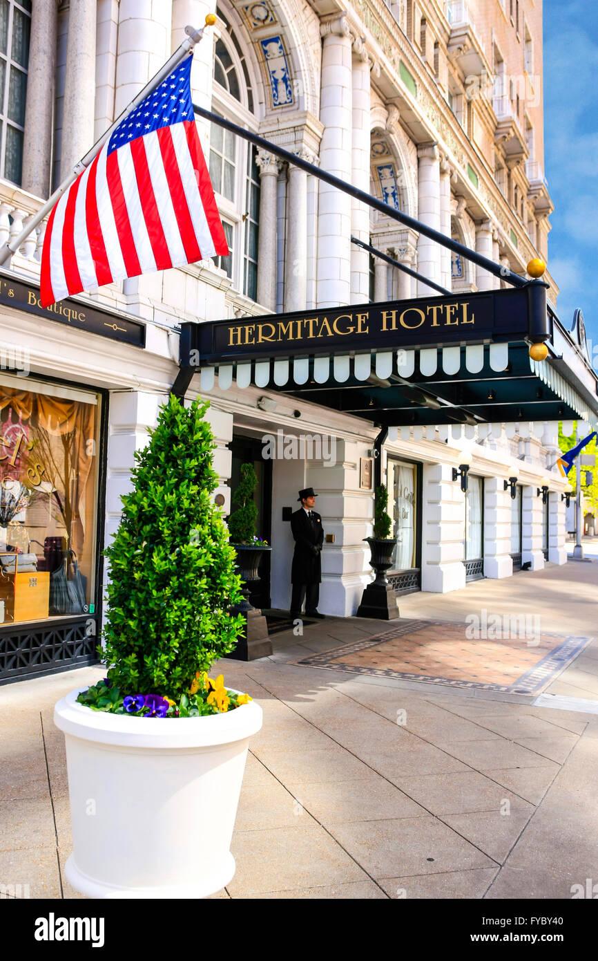 hermitage hotel nashville stock photos hermitage hotel. Black Bedroom Furniture Sets. Home Design Ideas