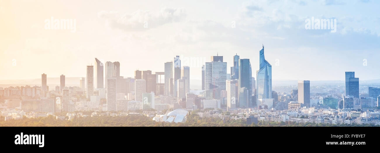 Modern cityscape panoramic background photo with colorful sky stock modern cityscape panoramic background photo with colorful sky paris france voltagebd Images