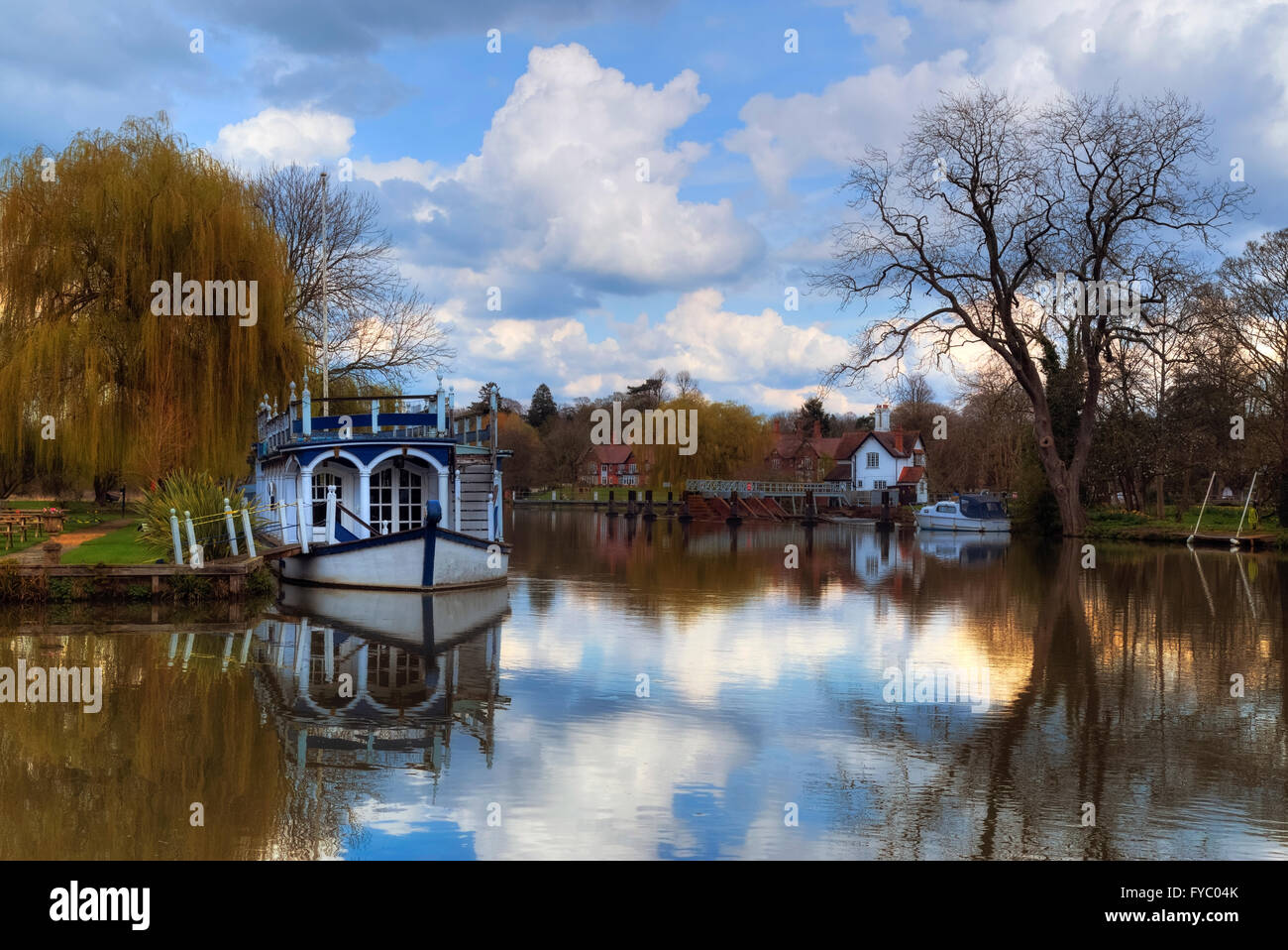 Strateley, Berkshire, England, UK - Stock Image
