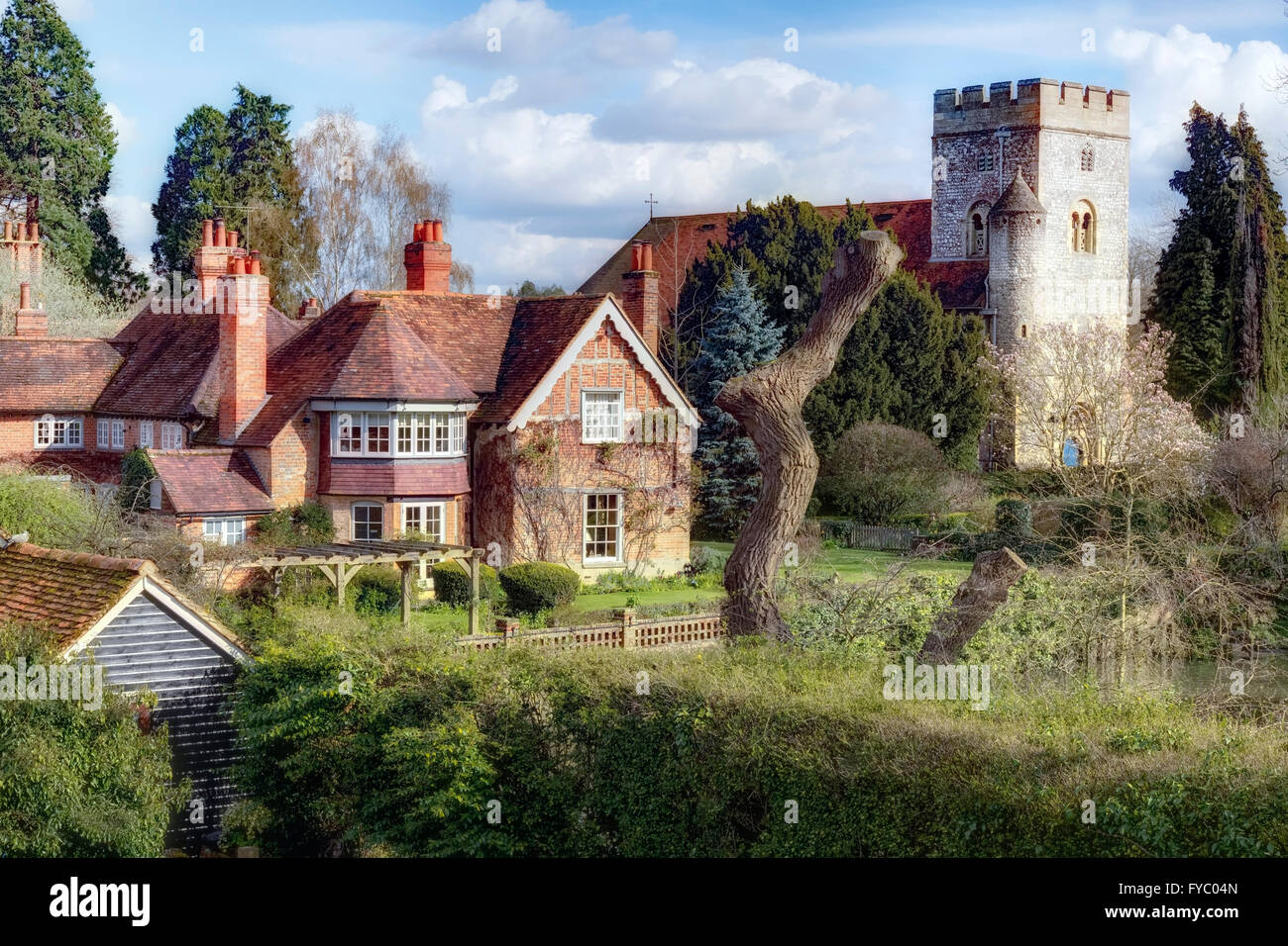 Goring, Berkshire, England, UK - Stock Image