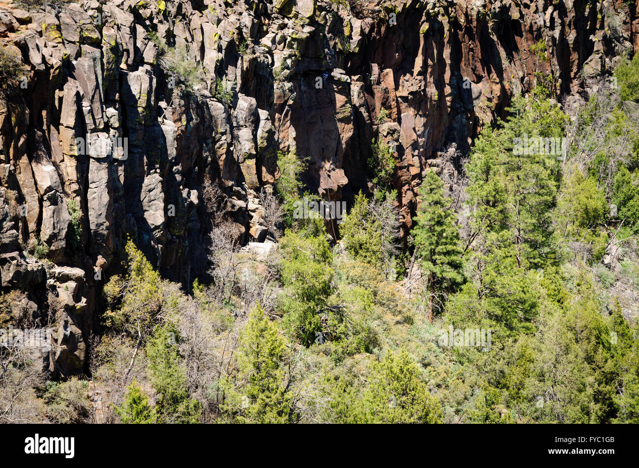 Oak Creek Canyon - Stock Image