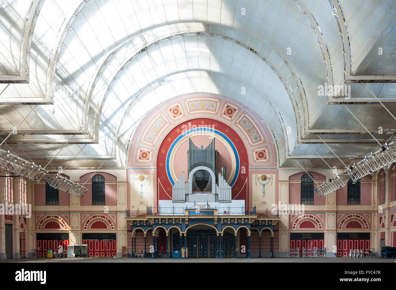 Great Hall at Alexandra Palace, London Borough of Haringey, Greater London, England, United Kingdom - Stock Image