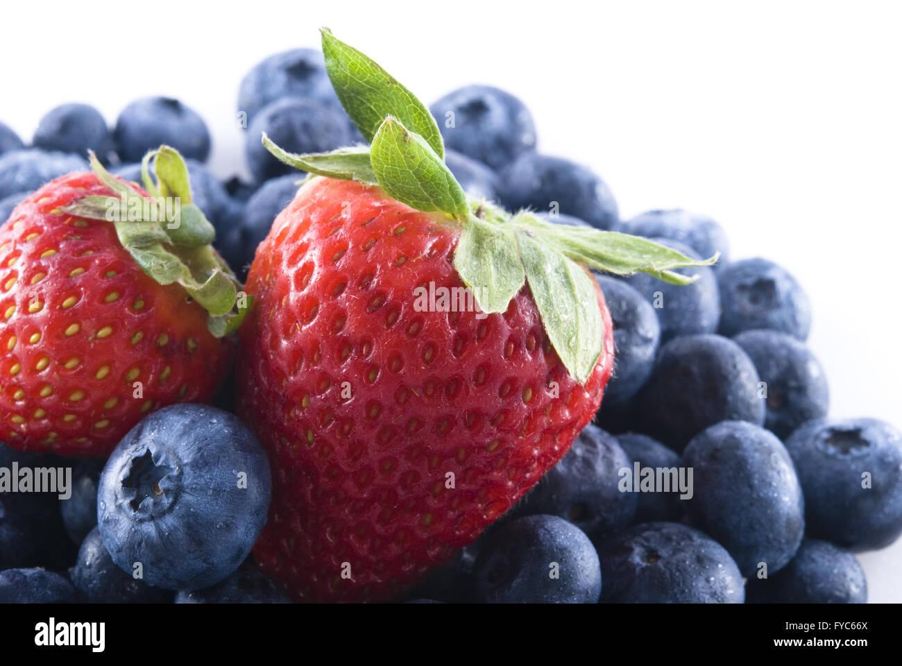 Mixed berries - Stock Image